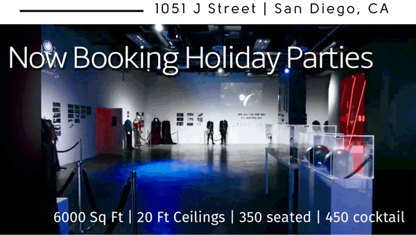 B2 Productions: Best San Diego Holiday Event Space